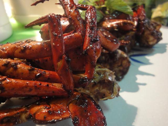 Ketam Nipah boleh dimasak dengan pelbagai cara masakan