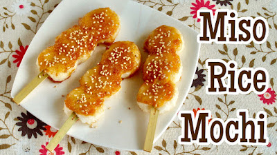 Miso Rice Mochi