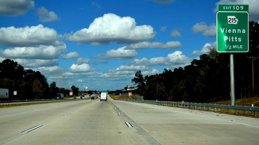 Interstate 75 in Georgia