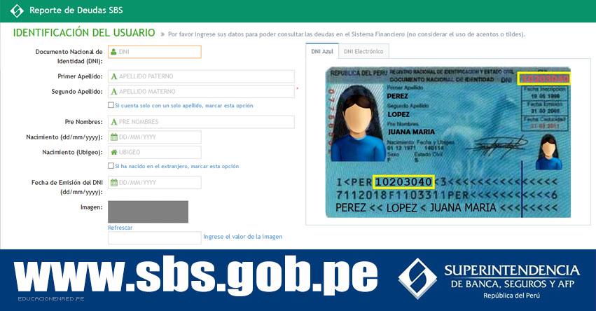 SBS: Conoce tu Reporte de Deudas 2018 [GRATIS] Reporte de Central de Riesgos del Ciudadano - www.sbs.gob.pe