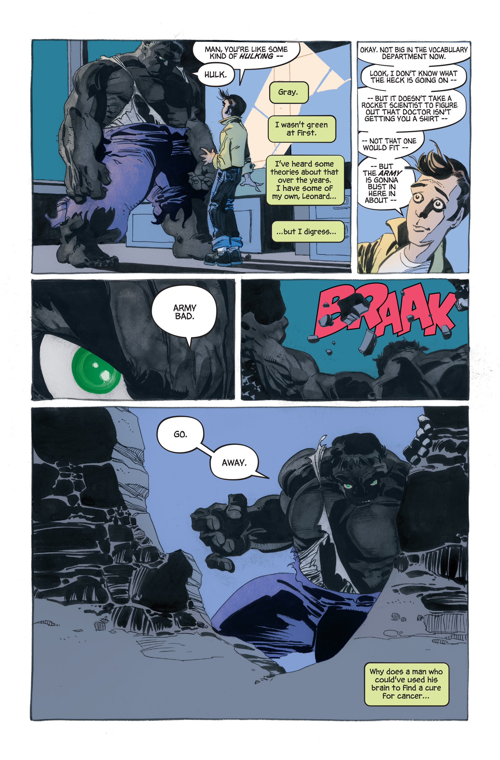 Read online Hulk: Gray comic -  Issue #1 - 15