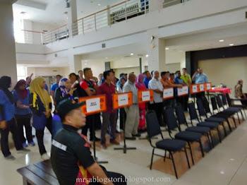 Majlis Penyerahan Bendera & Taklimat Kontinjen