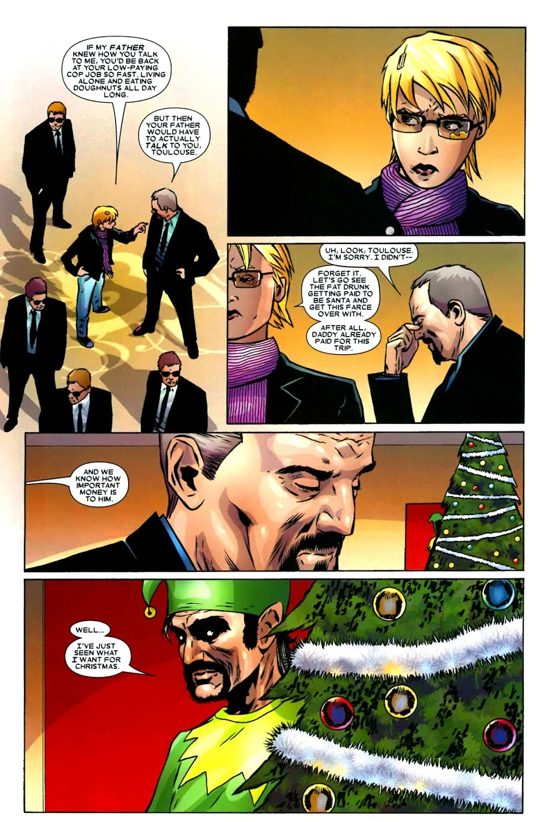 Read online Wolverine (2003) comic -  Issue #49 - 7