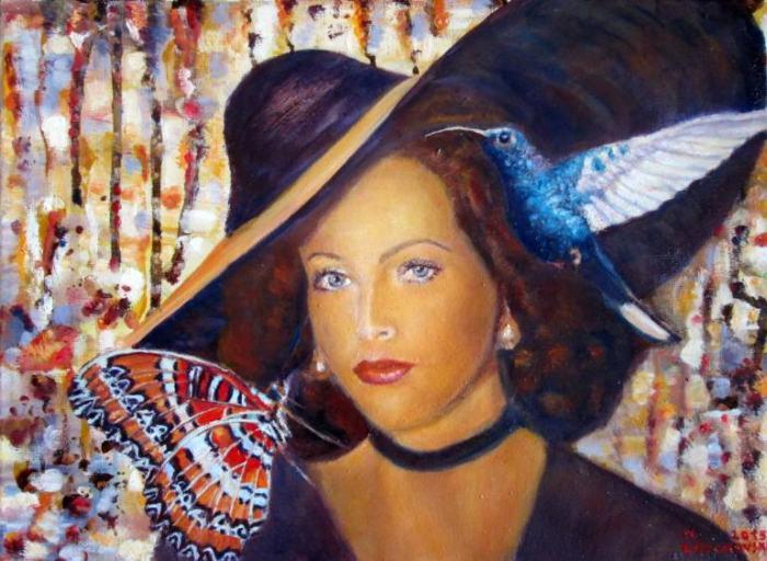 Македонский художник. Nikola Golubovski