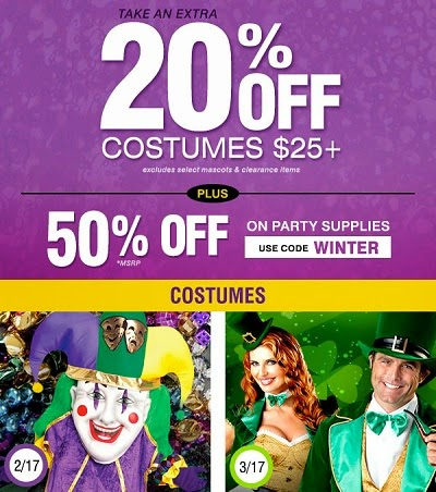 costume supercenter SUPER winter ad
