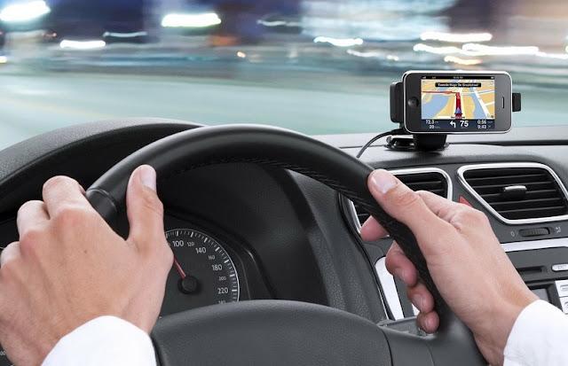 Usar o GPS para dirigir na Califórnia