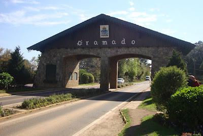 Pórtico de entrada de Gramado - RS