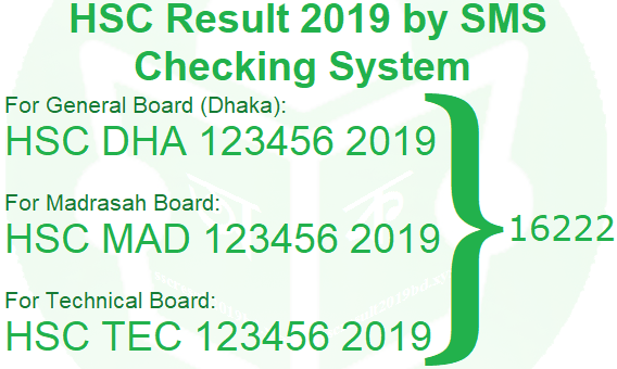 how to check hsc result 2019 by sms, how to check alim result 2019 by sms, hsc result 2019 via sms, hsc result by sms checking system, hsc result 2019 sms, hsc result 2019 by sms all board, hsc result 2019 check by sms dhaka board