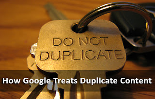 How Google Treats Duplicate Content