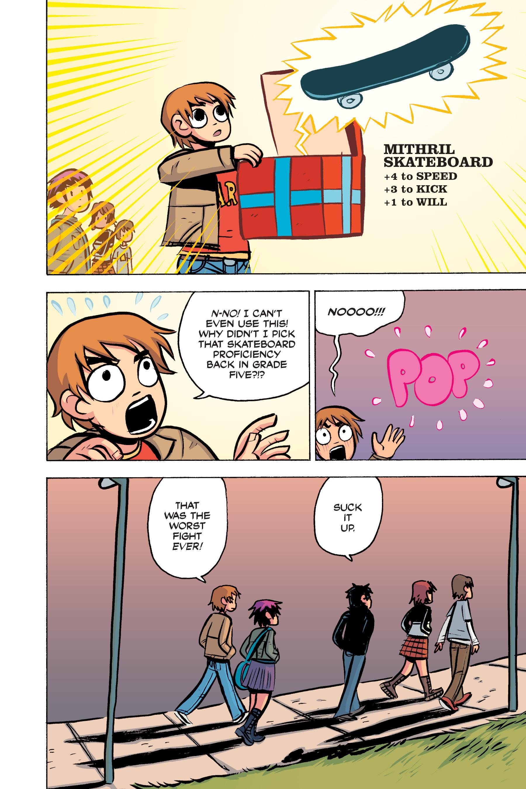 Read online Scott Pilgrim comic -  Issue #2 - 123