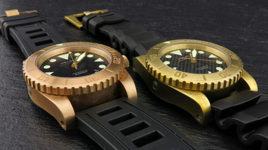 Oceanicdreams some of you may have seen the helson shark - Bronze dive watch ...