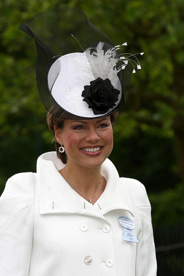 Kate Silverton at Ascot Racecourse in 2010