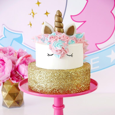 How To Make a Unicorn Birthday Cake