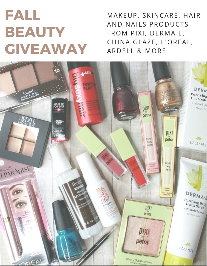 giveaway contest free makeup