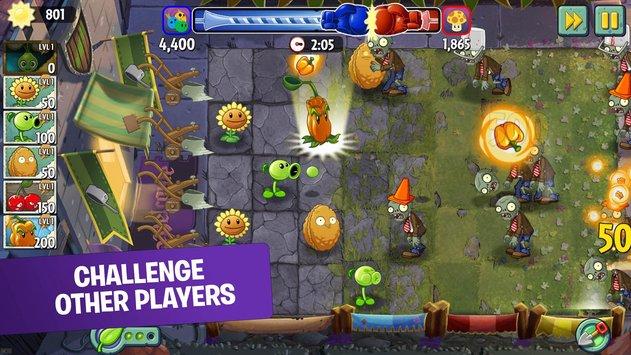 تحميل لعبة plants vs zombies 2 مهكرة للاندرويد اخر اصدار