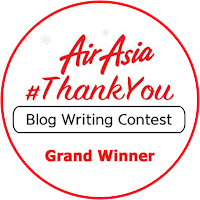 AirAsia #ThankYou Blog Writing Contest