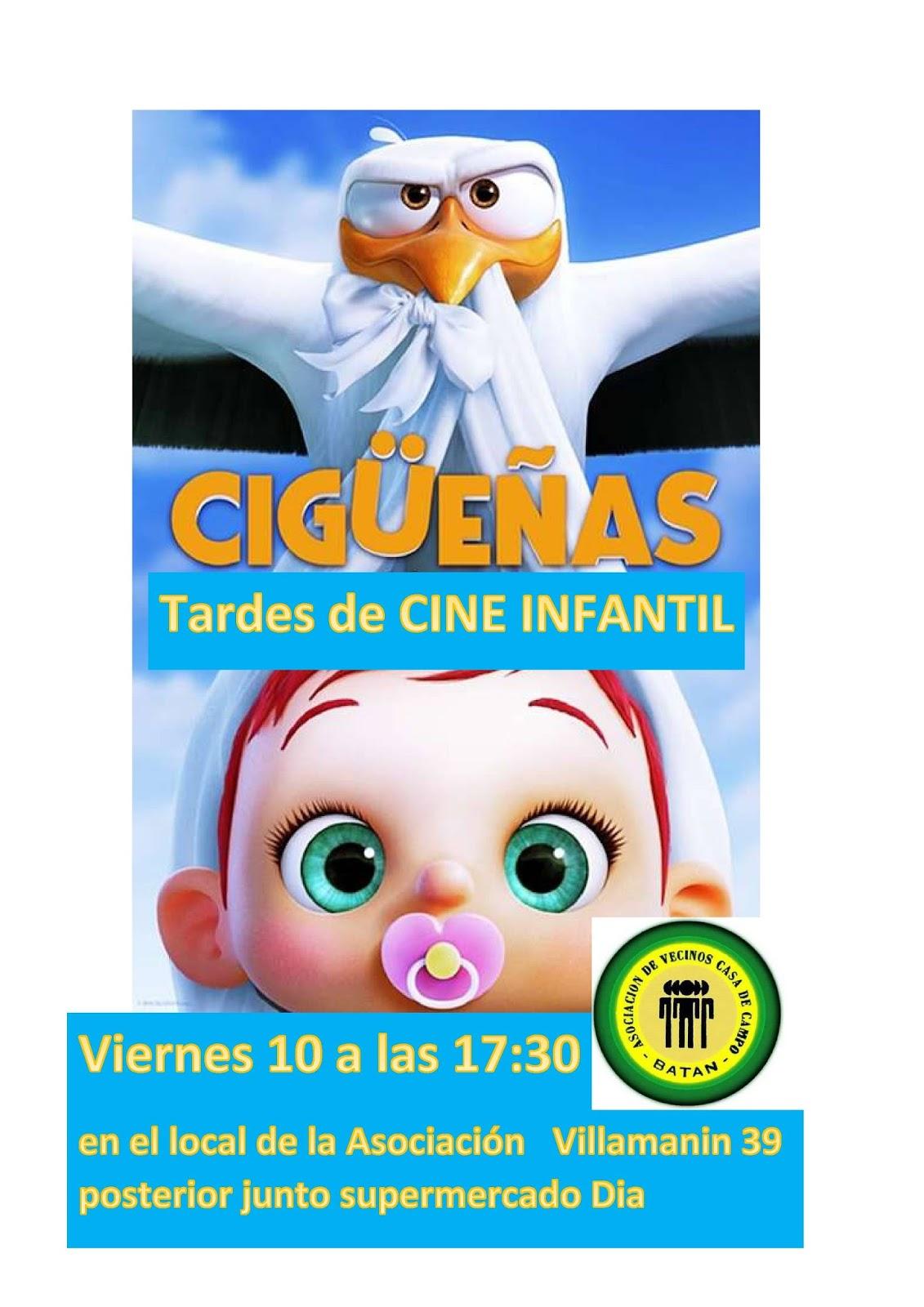 Ampa csb madrid viernes de cine for Autoescuela colonia jardin