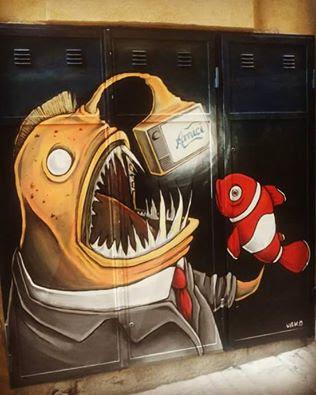 urka street art ancona