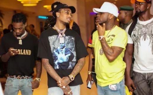 Davido joins Drake, Cardi b, Travis Scott on QUAVO HUNCHO Album