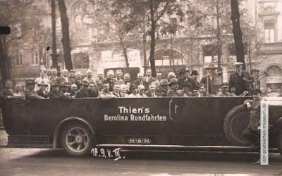 Tourisme Berlin 1927