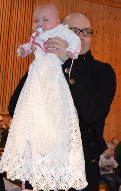 Kjole til dåp