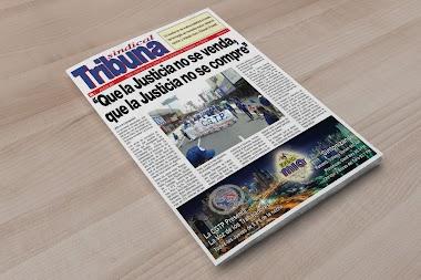 Ya está en Circulación la Edición de Tribuna Sindical · Julio - Agosto de 2017