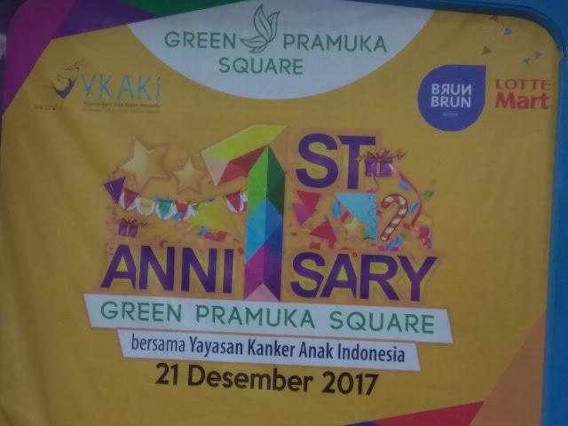 Green Pramuka Square Dihari Jadinya Berikan Donasi Pada Anak Penderita Kanker