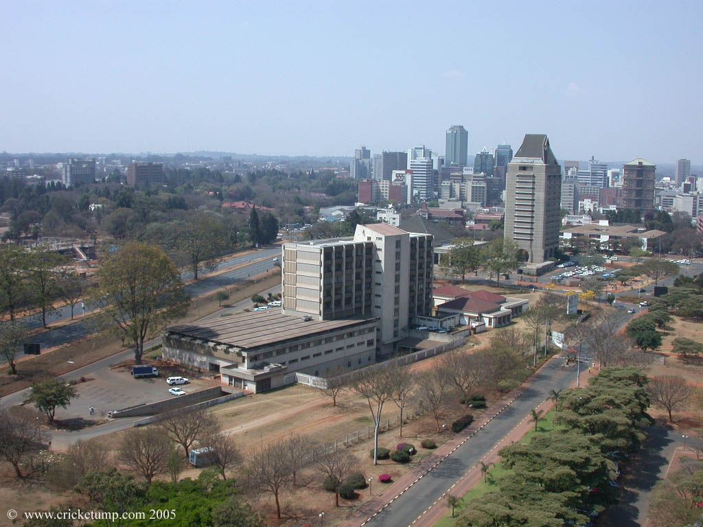 Harare, Capital do Zimbábue