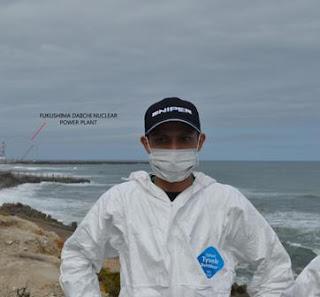 Pengalaman berkursus di Fukushima, Japan, Fukushima Nuclear Reactor