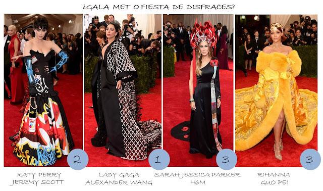 disfraces gala MET 2015