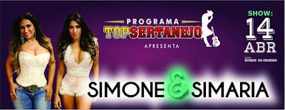 Simone e Simaria em Santiago. Dia 14 de abril.
