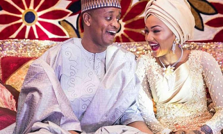 Zahra Buhari, husband Ahmed Indimi welcome bouncing baby boy