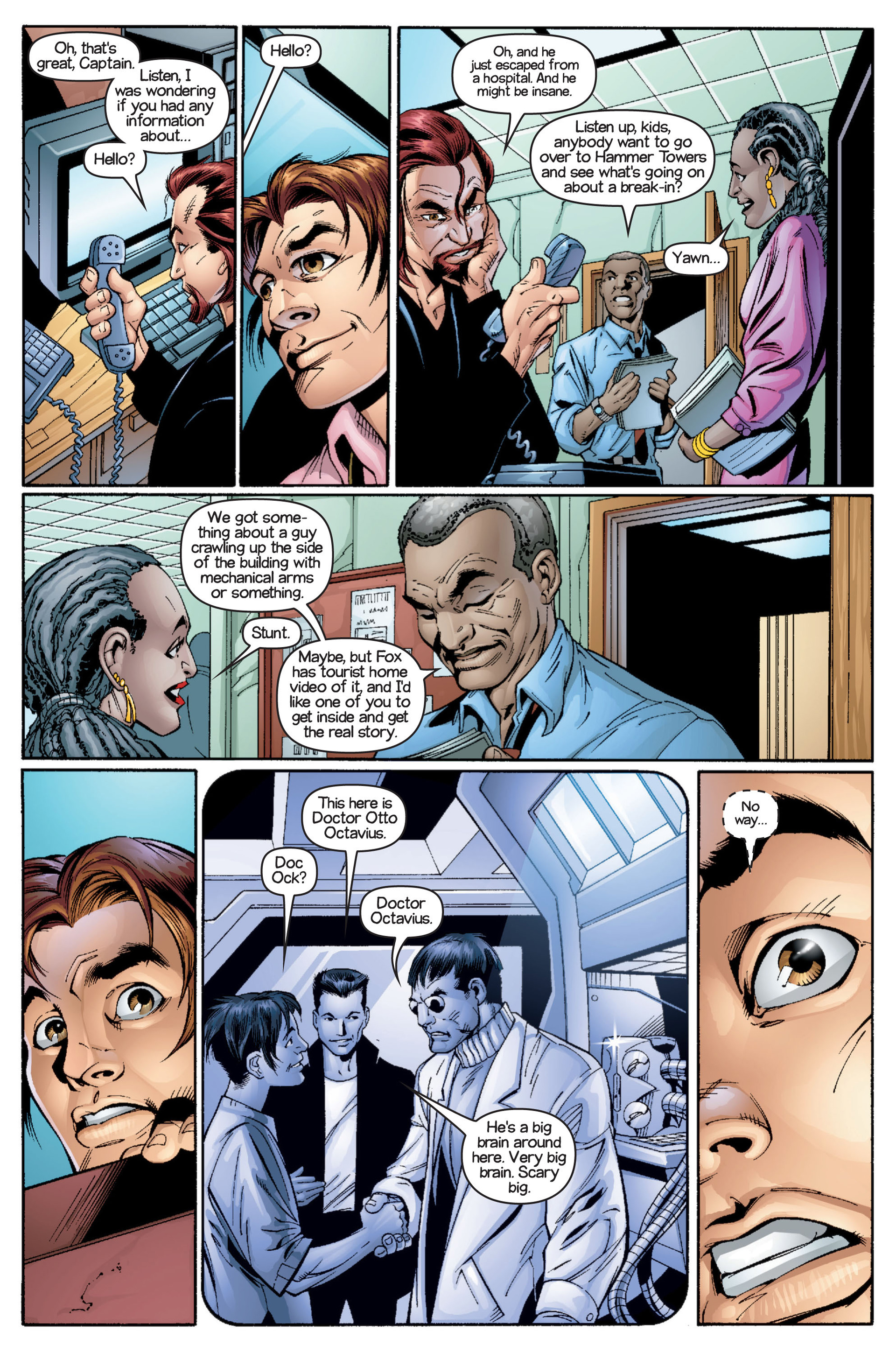 Read online Ultimate Spider-Man (2000) comic -  Issue #16 - 13