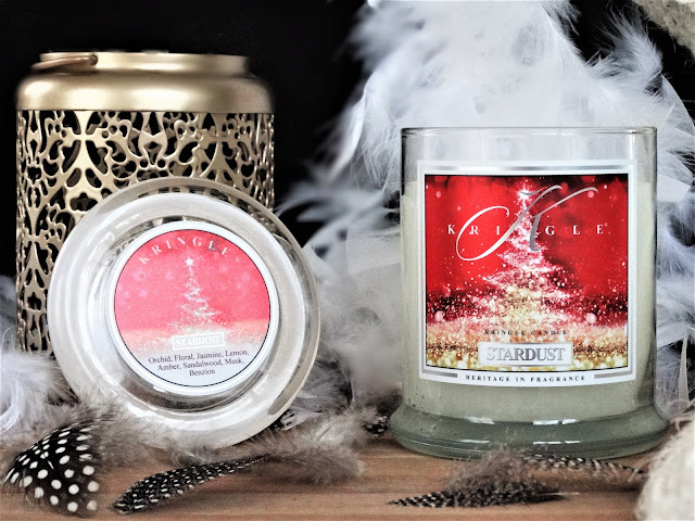 kringle stardust, avis kringle stardust, bougie kringle stardust, avis bougie kringle, kringle candle stardust, kringle candle stardust review, kringle candle review, kringle candle christmas collection, avis kringle candle stardust