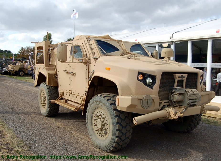 Oshkosh JLTVs for Slovenian army | World Defence News