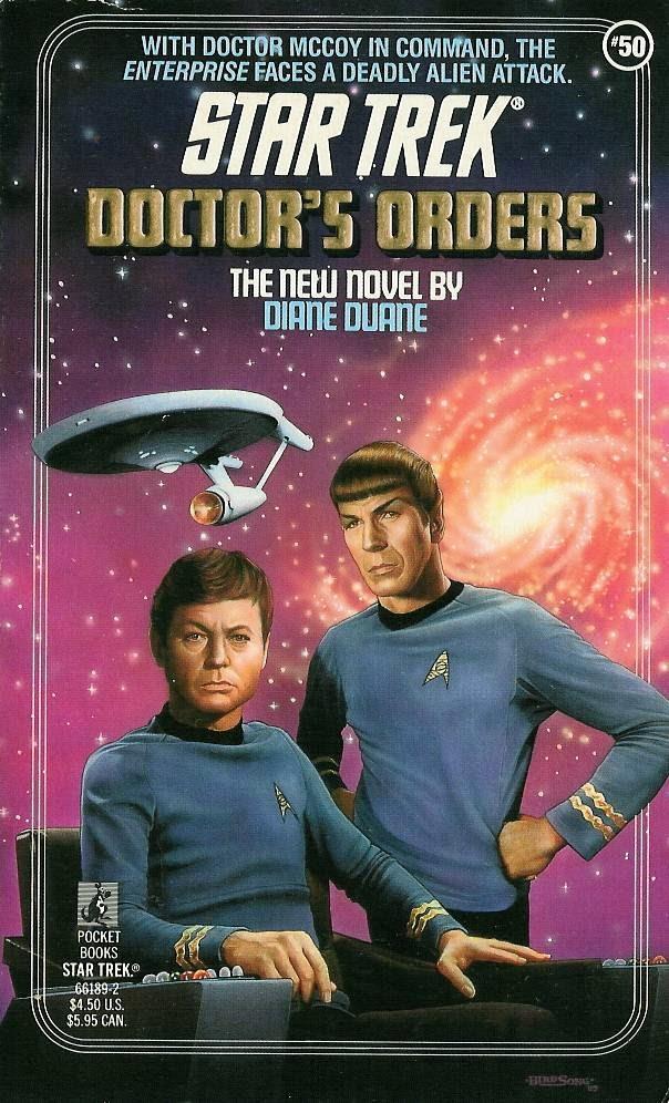 The Dork Review Rob S Room Star Trek Books Cover Art By