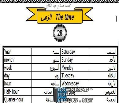 10000 كلمة إنجليزية من أصل عربي pdf