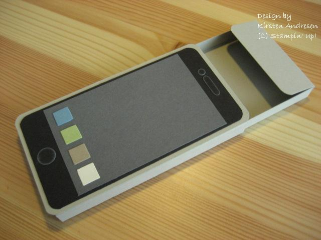 kirsten stempelkiste i phone aus papier. Black Bedroom Furniture Sets. Home Design Ideas