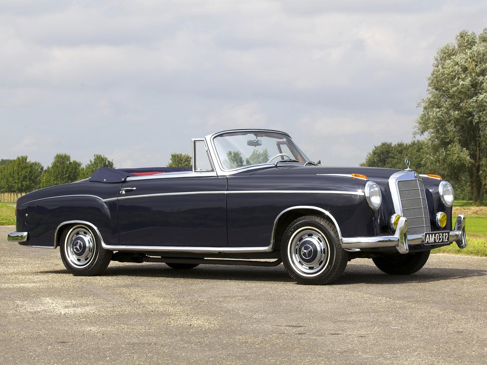 net cars show mercedes benz w128 220 se 1958 1960. Black Bedroom Furniture Sets. Home Design Ideas