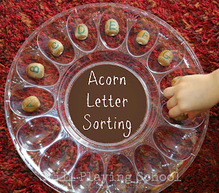 DIY Thanksgiving Activities idea from Still Playing School on Montessori-On-A-Budget.com