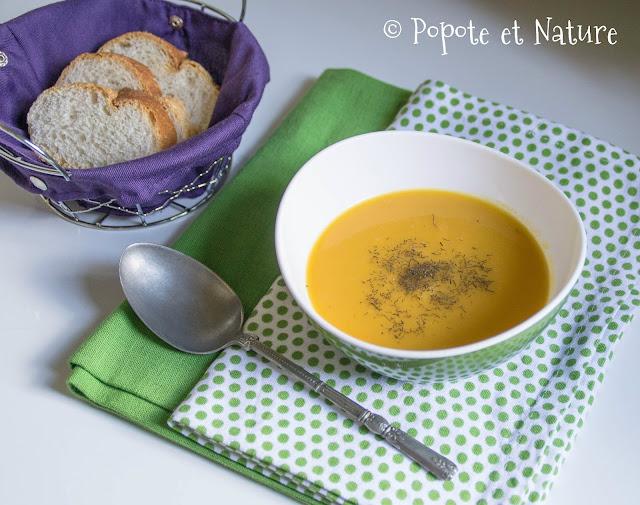 Soupe de légumes racines © Popote et Nature