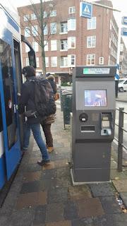 maquina expendedora billetes amsterdam