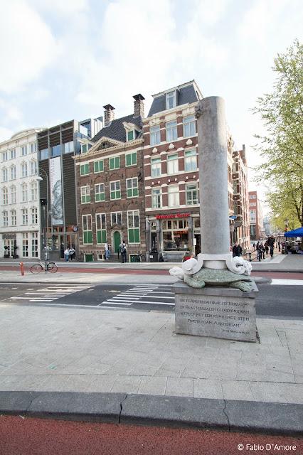 Colonna ad Amsterdam