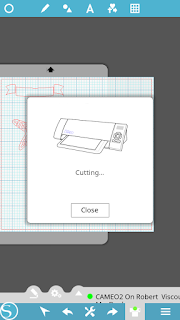 Silhouette Studio mobile, cutting