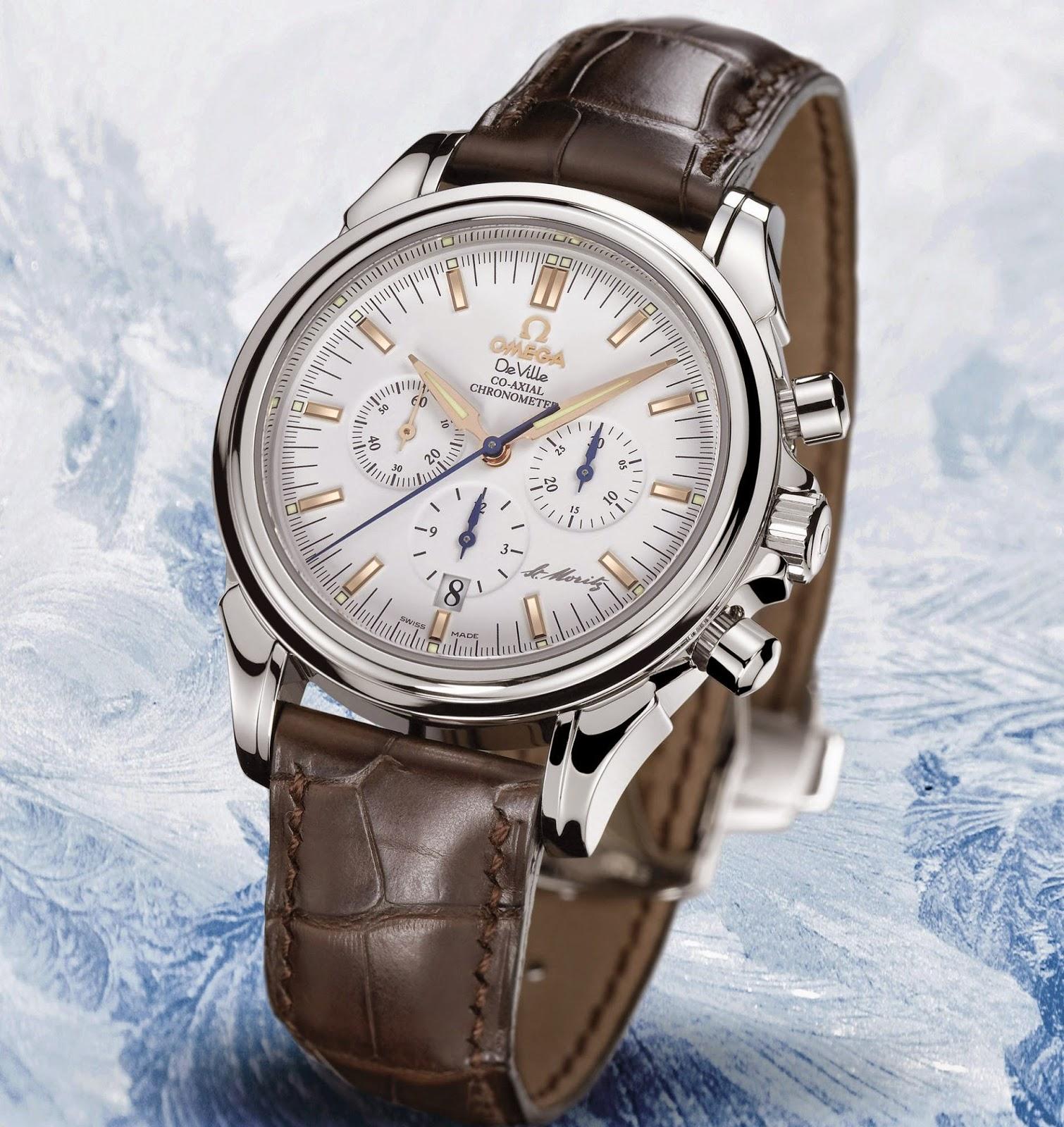 OMEGA St. Moritz De Ville Co-Axial Chronograph