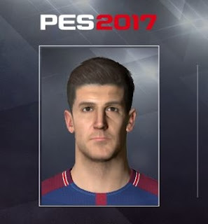 PES 2017 Faces Yuri Berchiche by Facemaker Ahmed El Shenawy