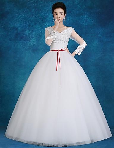 vestidos modernos de novia con color
