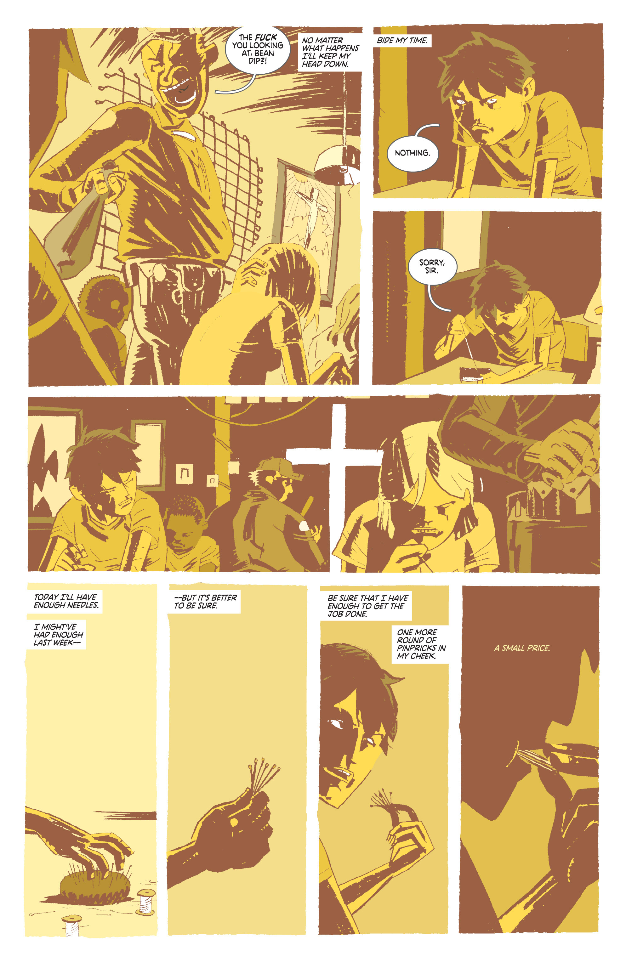 Read online Deadly Class comic -  Issue #8 - 8