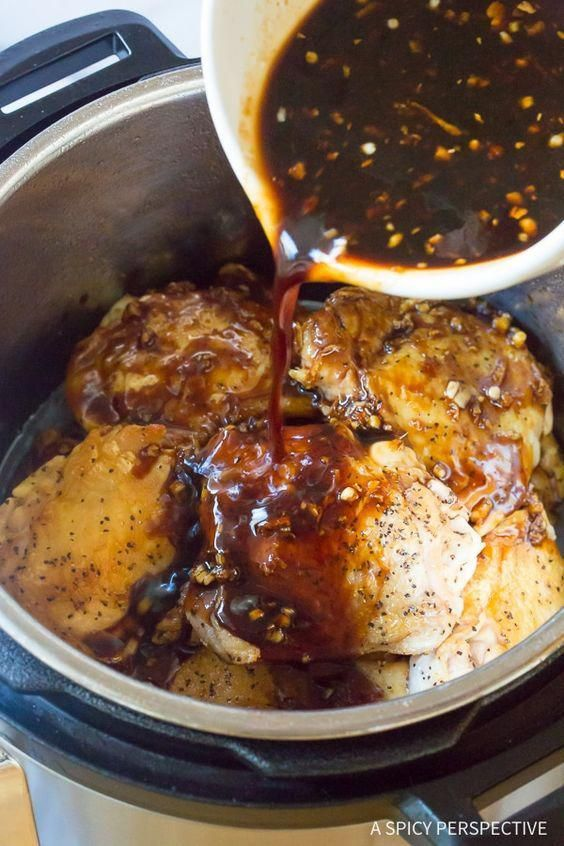 Instant Pot Sweet Soy Chicken Thighs #dinner ##instantpot