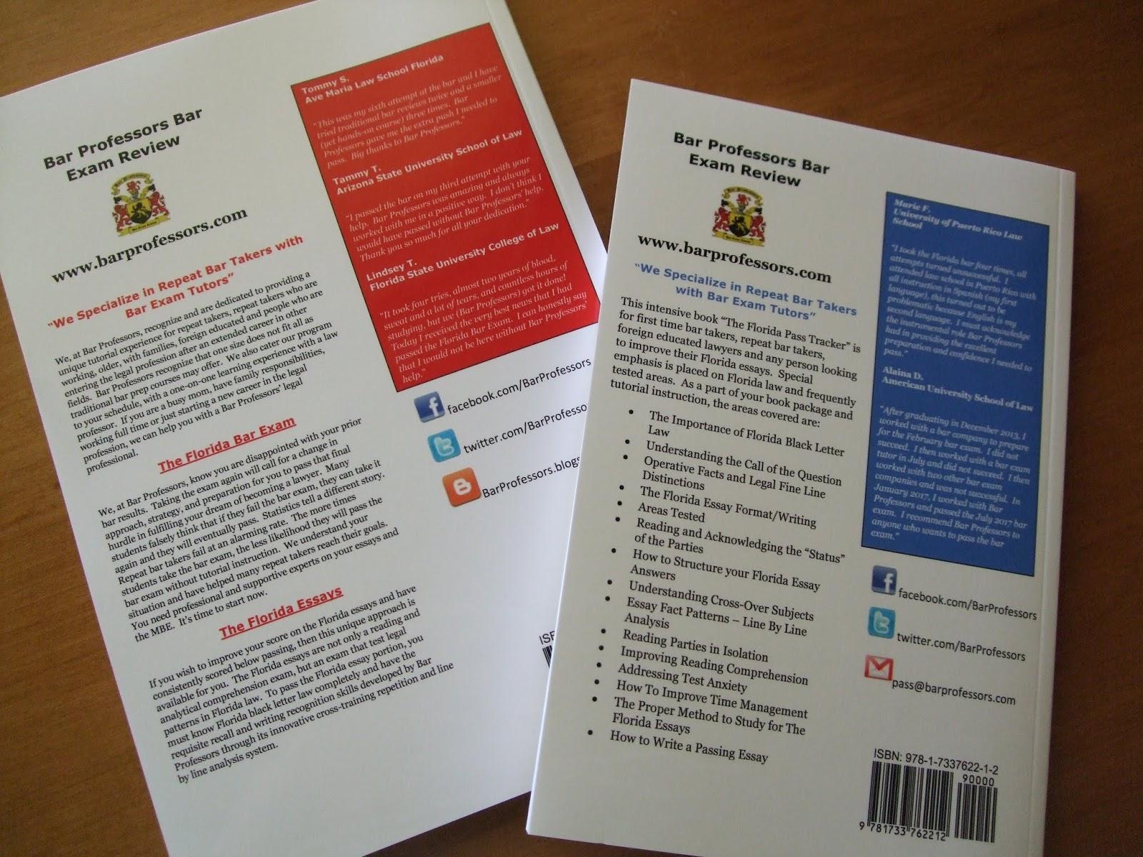 Bar Professors' Bar Exam Review Blog - UBE,MBE Florida